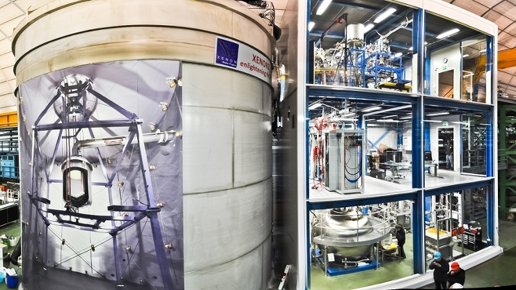 New results of dark matter detector XENON1T - IoP - University of